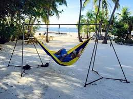 you can hammock anywhere now with the worlds strongest easiest