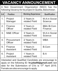 Job Desk Project Manager Project Manager Finance Officer Finance Assistant Procurement
