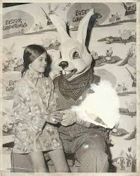spirit halloween queensborough easter used to be terrifying creepy vintage vintage easter and