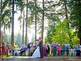 outdoor wedding venues oregon springs rhododendron garden portland weddings oregon