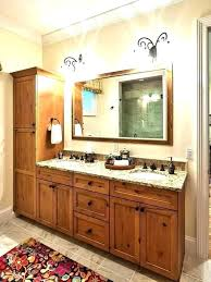 Bathroom Vanities And Linen Cabinet Sets Bath Vanity With Linen Cabinet Bathroom Vanity With Linen Tower