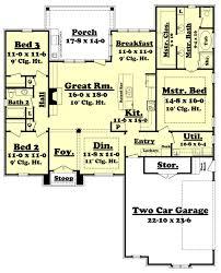 european house plan european house plans three bedroom bungalow house plans home plans 5