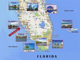 Florida Attractions Map Home