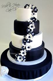 black and white wedding cakes stunning black white wedding cakes pictures styles ideas 2018