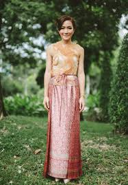 thai wedding dress hello may a thailand wedding aim pete