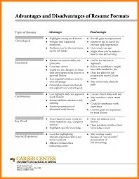 Sample Resume With Gaps In Employment 10 Types Of Resumes Foot Volley Mania