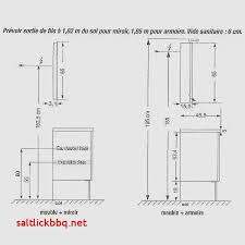hauteur meubles haut cuisine distance entre plan de travail et meuble haut norme hauteur plan de