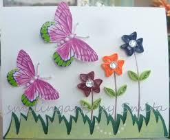 Quilling Designs Beautiful Butterfly Paper Quilling Designs Creative Art Craft Work