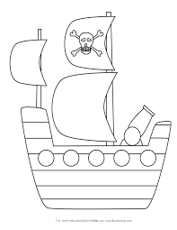 elegant pirate ship coloring page 30 on seasonal colouring pages