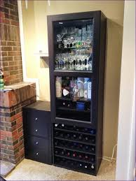 furniture amazing wine display cabinet tall narrow liquor