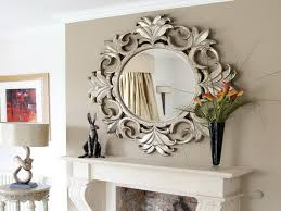 designer mirrors for living rooms modern contemporary silver