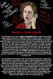When A Stranger Calls by October 6 Urban Legends