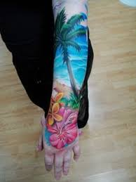 tropical tattoo would move to higher location tattoos