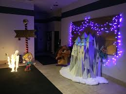 Winter Wonderland Decorations For Office Island Of Misfit Toys Castle Work Holiday Decorating Christmas