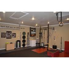 garage gym basics get rxd home garage gym basics 4 x 4 titan wall mount rig with dual pull up bars