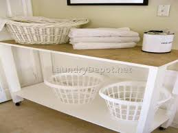 Laundry Room Table With Storage Laundry Room Tables Attractive Folding Table With Storage Fold Out