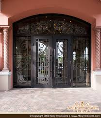 Exterior Entry Doors Custom Entry Doors Door Made Wrought Iron Exterior Design