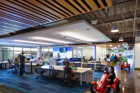 google office interior the 18 coolest offices of the 100 best companies to work for