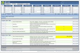 How To An Excel Template Ai List Excel Template Item List Free And