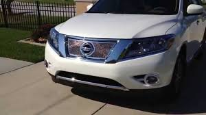 nissan pathfinder youtube 2015 2014 nissan pathfinder chrome grill youtube