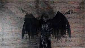 angel of death animated halloween prop haunted house animatronic