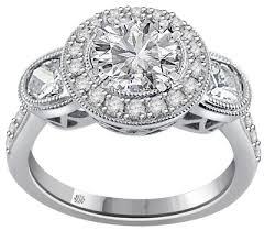 christian engagement rings 2 16 carat christian 18kt white gold engagement ring