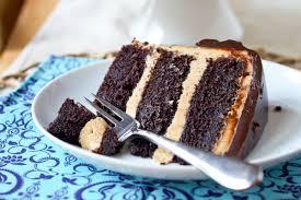 fudgy chocolate peanut butter cake smells like home