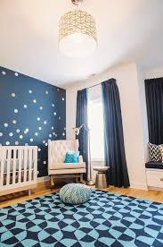 Boy Nursery Wall Decals Navy Blue Boy Nursery With Empire Rocker Contemporary Nursery