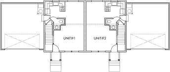 duplex house plans with basement duplex plans with 2 car garage