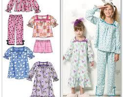 pajamas pattern etsy