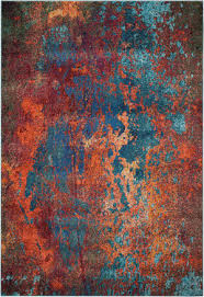 Red Turquoise Rug Teal And Orange At Rug Studio