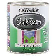 Home Depot Price Match Online by Rust Oleum Specialty 29 Oz Tintable Chalkboard Paint 243783 The