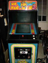 Ms Pacman Cabinet Ms Pac Man Upright Arcade Machine Restoration
