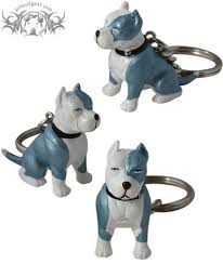 american pitbull terrier figurines pit bull blue and white key chain pit bull gear