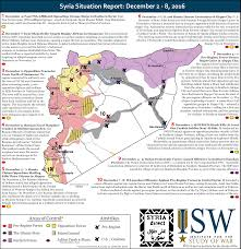 Syria War Map by Isw Blog Syria Situation Report December 2 8 2016
