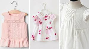 cutest designs of cotton dresses for kids 2017 youtube
