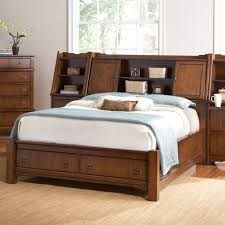 simple bedroom with hutch headboard footboard storage bed two
