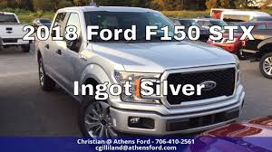 2018 ford f150 stx ingot silver quick walk around youtube