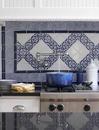 Blue And White Backsplash Tiles Zyouhoukan Net