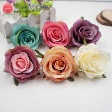 roses wholesale wholesale 20pcs silk retro european style artificial flowers
