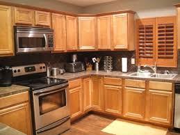 Oak Cabinet Kitchens Backsplash For Kitchen With Honey Oak Cabinets Google Search