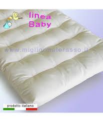 materasso bambino materasso naturale specifico per bambini molto piccoli in cotone 100