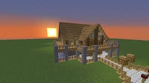 how to start to build a house wooden house start of build series minecraft project