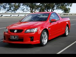 holden ute ss 2007 holden ve ss v ute red front and side speed 2 1024x768