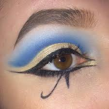 Eyeliner Halloween Makeup by Week 4 Egyptian Makeup Images The Eyeliner In This Example