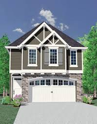Garage Loft Plans An Absolutely Beautiful Home Design Perfect For A Narrow Lot This