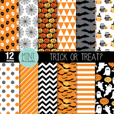 black and orange halloween background halloween scrapbooking paper digital paper patterned paper