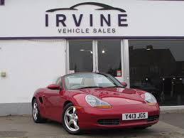 pink porsche convertible used porsche boxster red for sale motors co uk