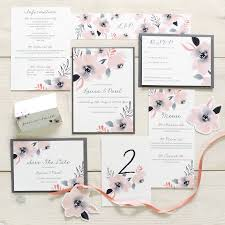 wedding stationery sets sweet posey floral wedding stationery set by designs