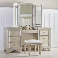 Mirrored Vanity With Drawers Fairfax Home Collections Tiffany Vanity With Mirror U0026 Reviews